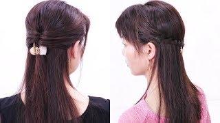 ハーフアップ髪型/Half Up Styles /Chie's Hair