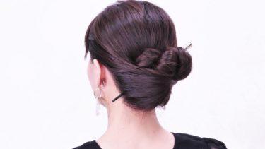 【時短で簡単夏ヘアー】2選クイックくるりんぱ髪型。