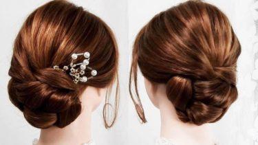 【和髪スタイル】お茶会、よそ行きの日の髪型 優雅で美しく知性を漂わせるまとめ髪