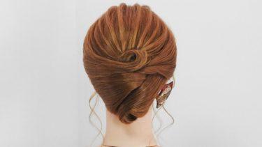 【シンプル アップヘアスタイル】エレガント!落着いた雰囲気で大人の女性を演出するまとめ髪