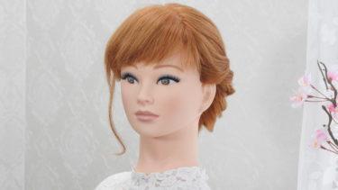 【ロープ編み込み髪型】やり方簡単 ベース巻きなし 可愛いヘアー 見た目より全然簡単 襟足アップアレンジ