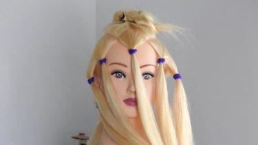 【ハロウィン特集 パート⑤】Halloween Hairstyle ジョジョの奇妙な冒険 グイード・ミスタ風 ヘアスタイル