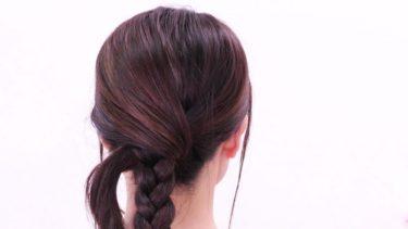 三つ編みを使った応用ヘアアレンジ/Self Made Hair Styles/Braid Hair