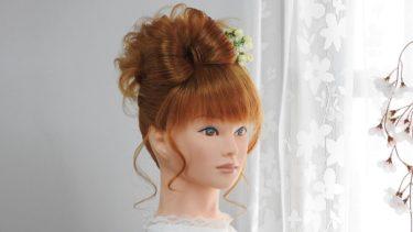 立てるリボンヘアの作り方/ Chie's Hair