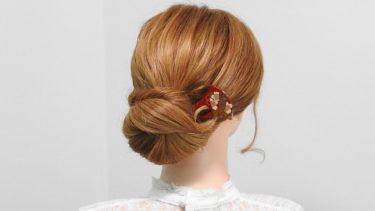 【卒業式&袴ヘアー】ゴムでまとめた華やかなアップスタイル/Up hair hairstyle
