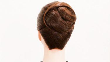 【大人の華やかなアップヘア】 落ち着いた雰囲気の奥ゆかしい上品髪型