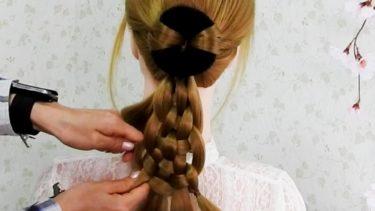 6本編み方法2//Shinyon Hairstyle
