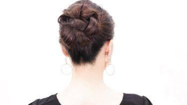 [2分セルフ簡単]ポニーテールで纏めたアップ髪型/お茶会・結婚式・二次会アップスタイル/Chie's Hair