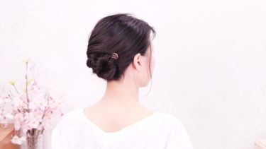 [初心者]忙しい朝にもパパッとヘアアレンジ/ヘアアクセサリーでポニーテール~お団子スタイル/Chie's Hair