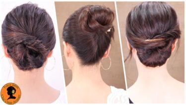 【ロング髪型】長い髪も美しくまとまる3パータンセルフヘアアレンジ