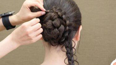 【お団子スタイル】3ステップ 巻くだけで可愛いおだんご髪型